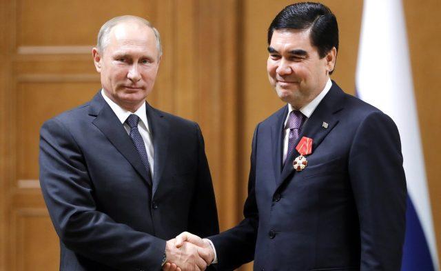 Putin Turkmen