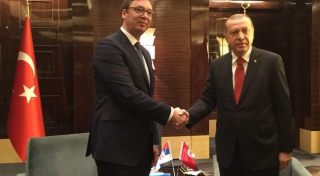 Вучич и Эрдоган