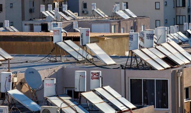 Израиль, солнечные батареи