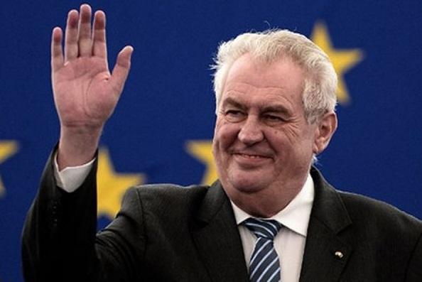 Президент Чехии Земан