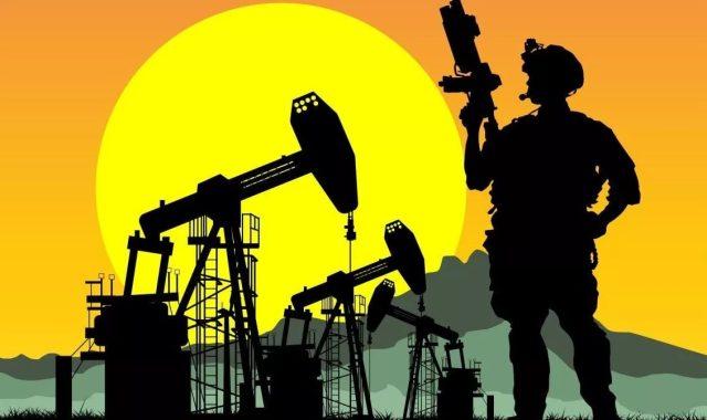 Нефть, добыча, война
