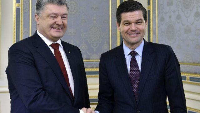 Mitchell i Poroshenko