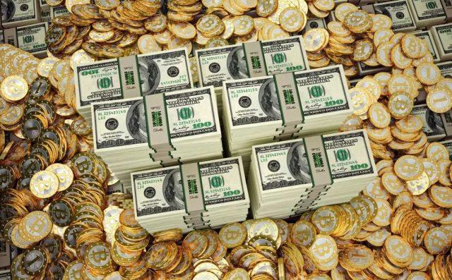 Биткоин, доллар