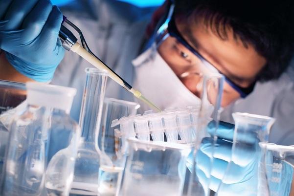 Лаборатория вакцина COVID-19