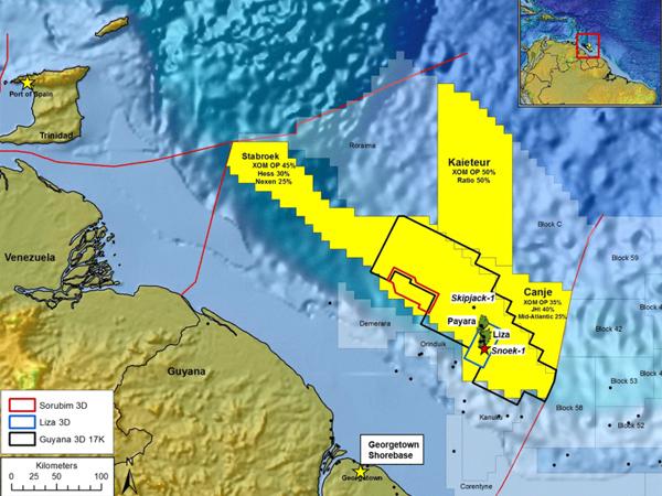 Гайана блок Starbroek