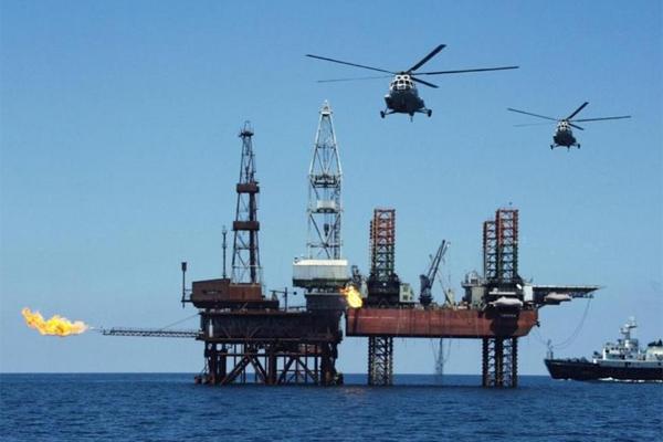 шельф платформа Нафтогаз