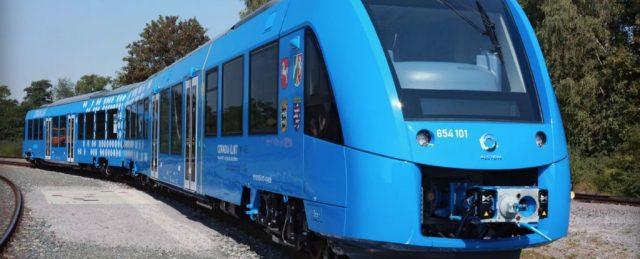 Поезд на водородной тяге