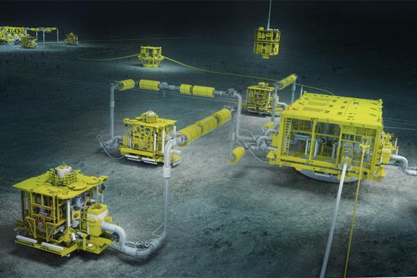 Подводная добыча Алмаз Антей