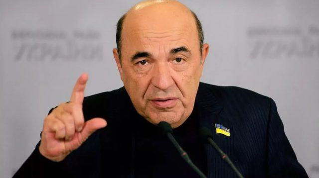 депутат Верховной рады Украины Вадим Рабинович