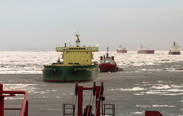 СМП нефть Novy Port