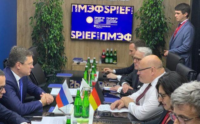 Министры энергетики России и Германии - Новак и Альтмайер