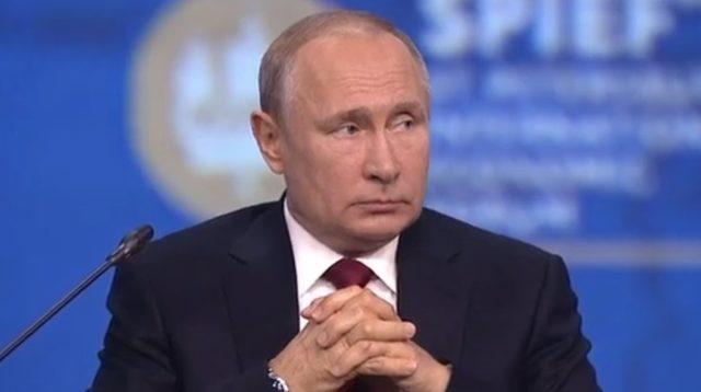 Президент Владимир Путин Северный поток-2