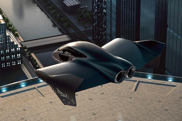 Aeromobil_Porsche