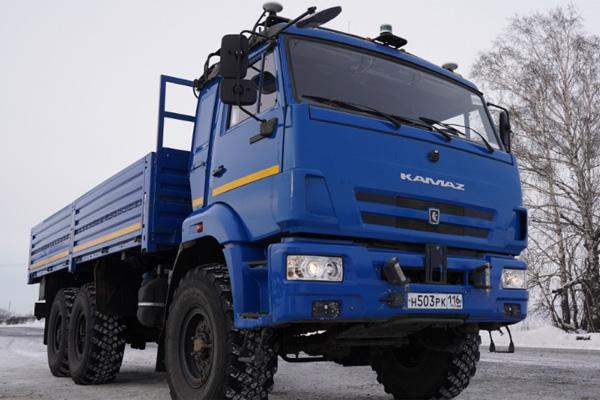 Беспилотные грузовики Газпром нефть