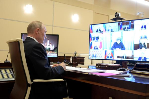 Путин и правительство