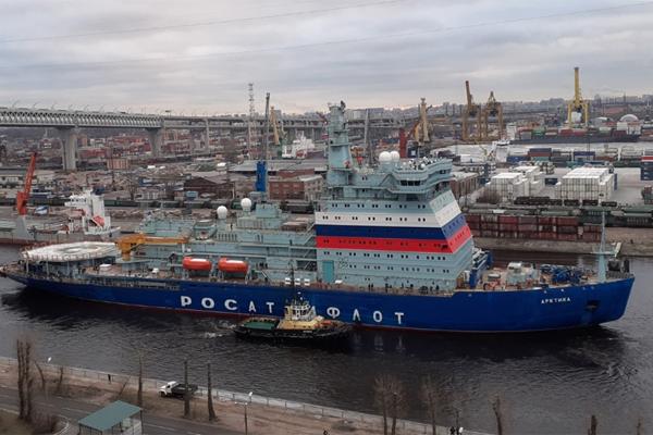 Ледокол Арктика СМП