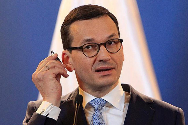Премьер Польши Моравецкий