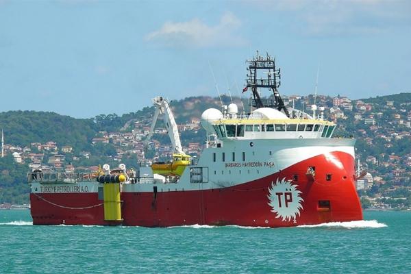 Турция судно Barbaros