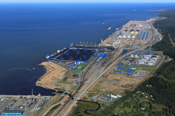 Порты РФ Усть-Луга