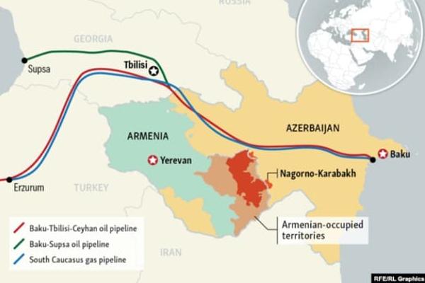 Азербайджан трубопроводы