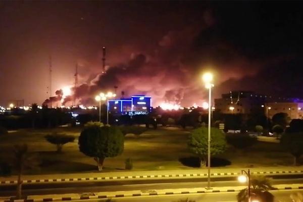 Saudi Aramco взрыв хранилища