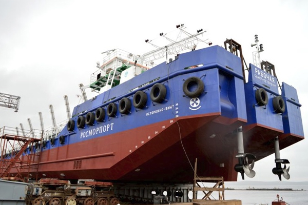 Беспилотное судно Рабочая