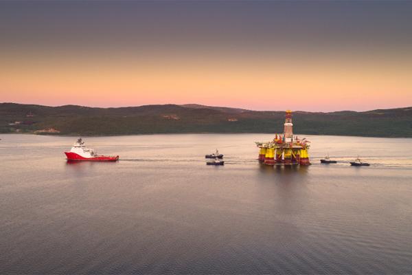 Роснефть платформа месторождение Карское море