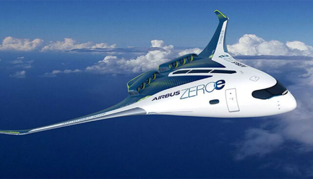Самолет водородное топливо