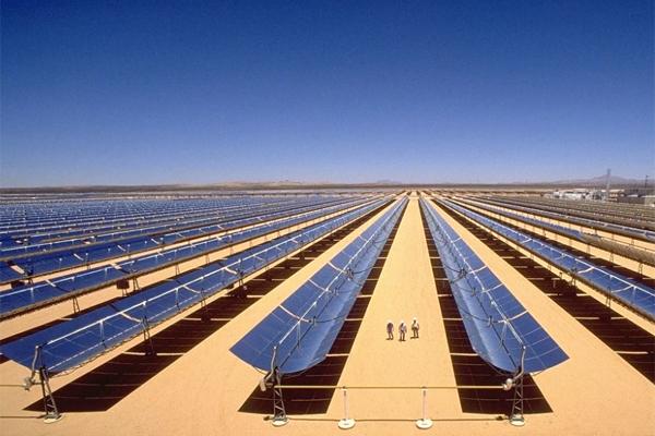 солнечные панели в Сахаре 'энергопереход