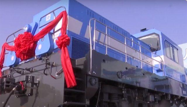 Водородный локомотив