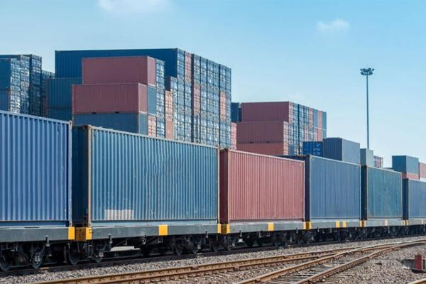 Поезд контейнеры КНР РФ