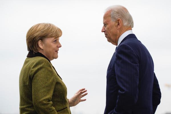 Меркель Байден Северный поток-2