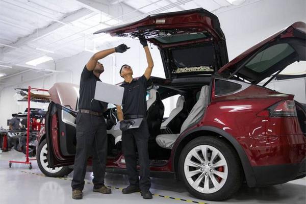 Электромобили ремонт