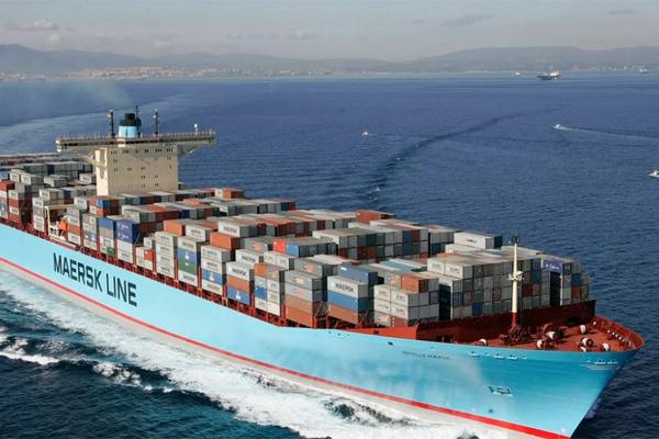 Maersk судно