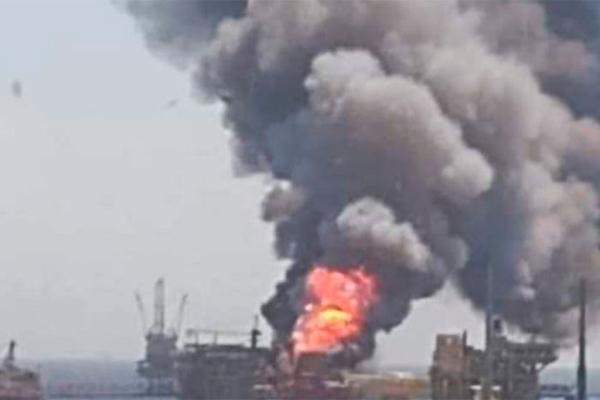 Pemex платформа взрыв