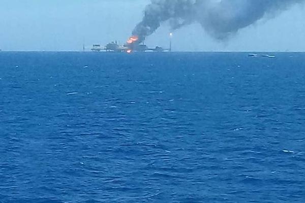 Взрыв Мексиканский залив