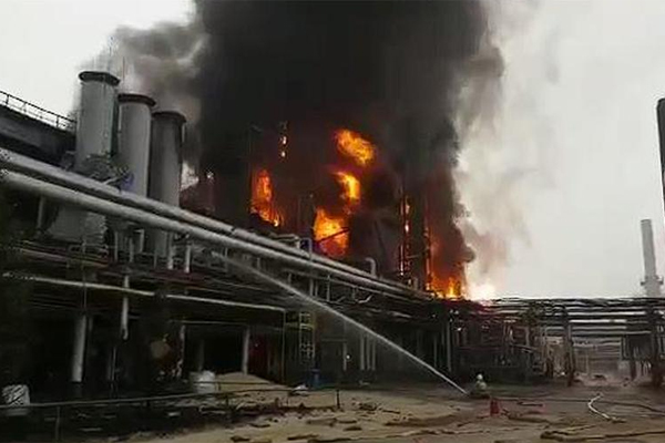 Пожар на ГПЗ