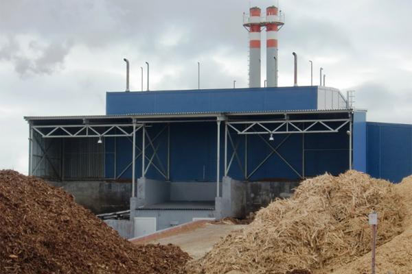 ТЭС древесные отходы опилки